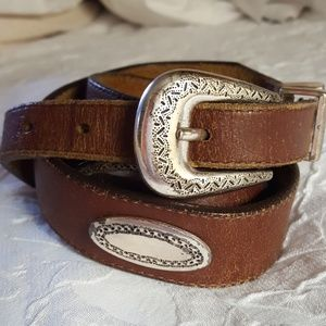 Brighton Vintage Genuine Leather Belt